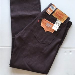 New! Men's Levi's 501® Original Shrink-To-Fit Jean